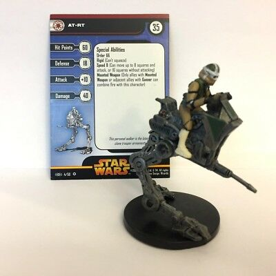 Star Wars Revenge of the Sith #4 AT-RT (VR) Miniature