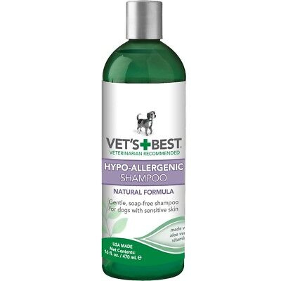 Vet's Best 16 oz Hypo-Allergenic Dog Shampoo (Best Hypoallergenic Dog Shampoos)