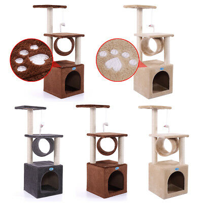 "36"" Cat Tree Condo Furniture Play Toy Kitten Pet House Scratching 5 Types"