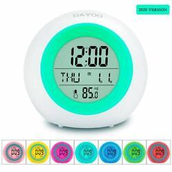 Kids Alarm Clock, LED Digital Clock for Boys Girls