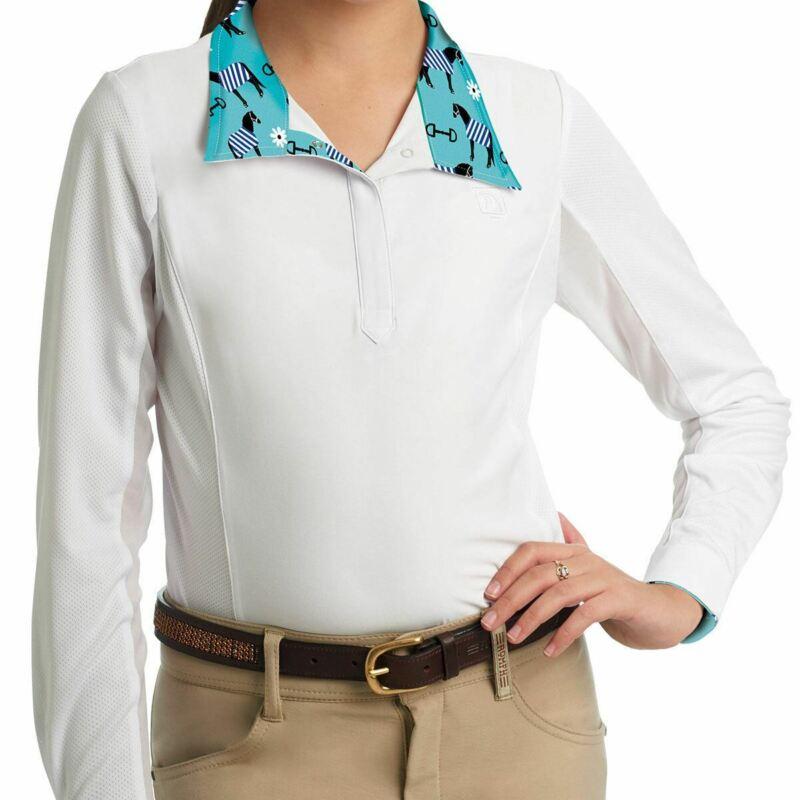 Romfh Sarah Long Sleeve Show Shirt - Childs - Pony Blankets