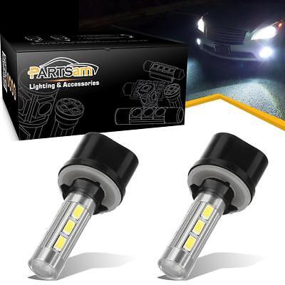 2x 880 892 893 899 High Power 14 5730 SMD 6000K White LED For Driving Fog Light