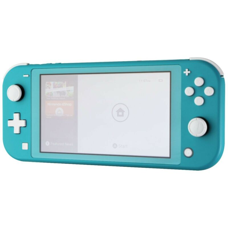 Nintendo Switch Lite Hand-Held Gaming Console - Turquoise (HDH-001)