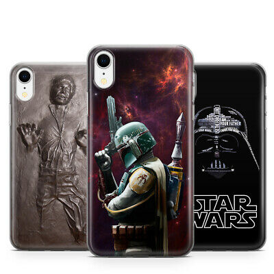 Star Wars Boba Fett Han Solo Joda Carbonite Phone Case for iPhone X 11 Pro Max
