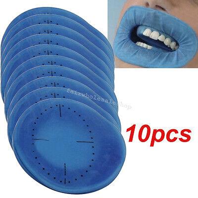New Dental Disposable Sterile Rubber Dam Cheek Retractor Expanders Opener 10pcs