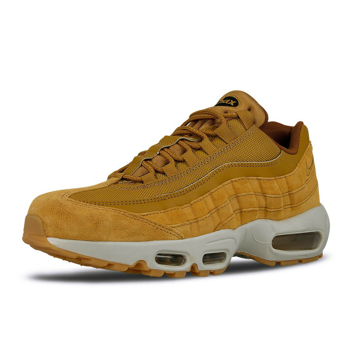 quality design 12bb3 1c887 Nike Mens Air Max 95 SE Wheat Pack Light Bone Running Shoes Sneakers  AJ2018-700