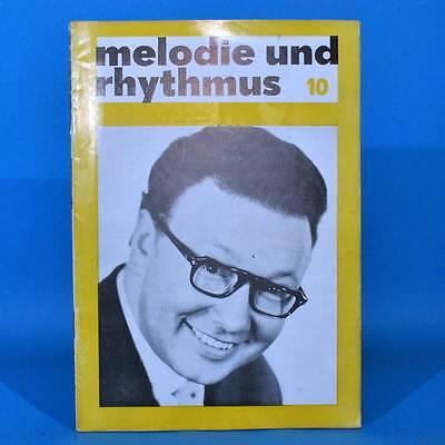 DDR Melodie und Rhythmus 10/1967 Ina Martell Robby Lind Orchester Schwarz-Weiß