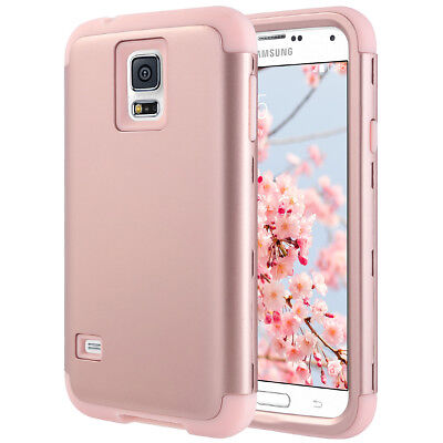 Shockproof Hybrid Rubber Hard Case Cover for Samsung Galaxy