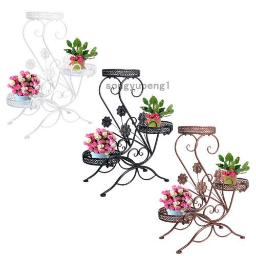 3 TIER 3 Color Floor-Standing Pot Plant ...
