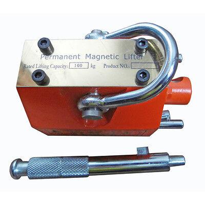 Permanent Magnetic Lifter 100kg3000kg Lifting Pml Magnet Hoist Crane Heavy Duty