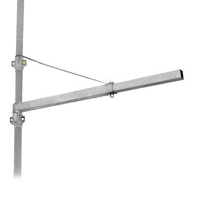 Schwenkarm Halterung für Seilzug Seilhebezug Seilwinde max. 600 kg - 1100 mm