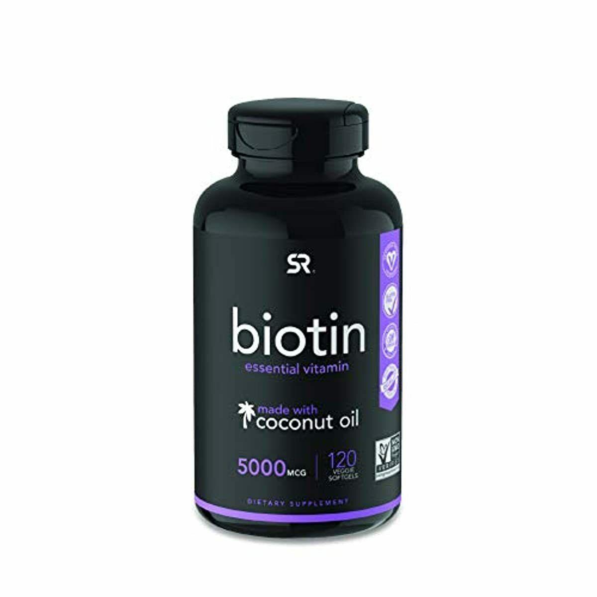 Biotin Pills For Men Women Organic Hair Growth Best Treatmen
