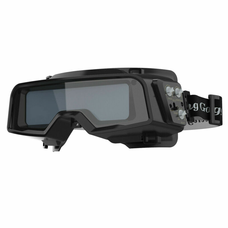 True Color 1/1/1/2 Auto Darkening lenses Welding Goggles, Din 4/5-9/9-13