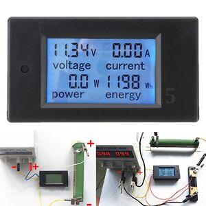 DC-100A-Digital-LED-Power-Meter-Monitor-Power-Energy-Voltmeter-Ammeter-Tester