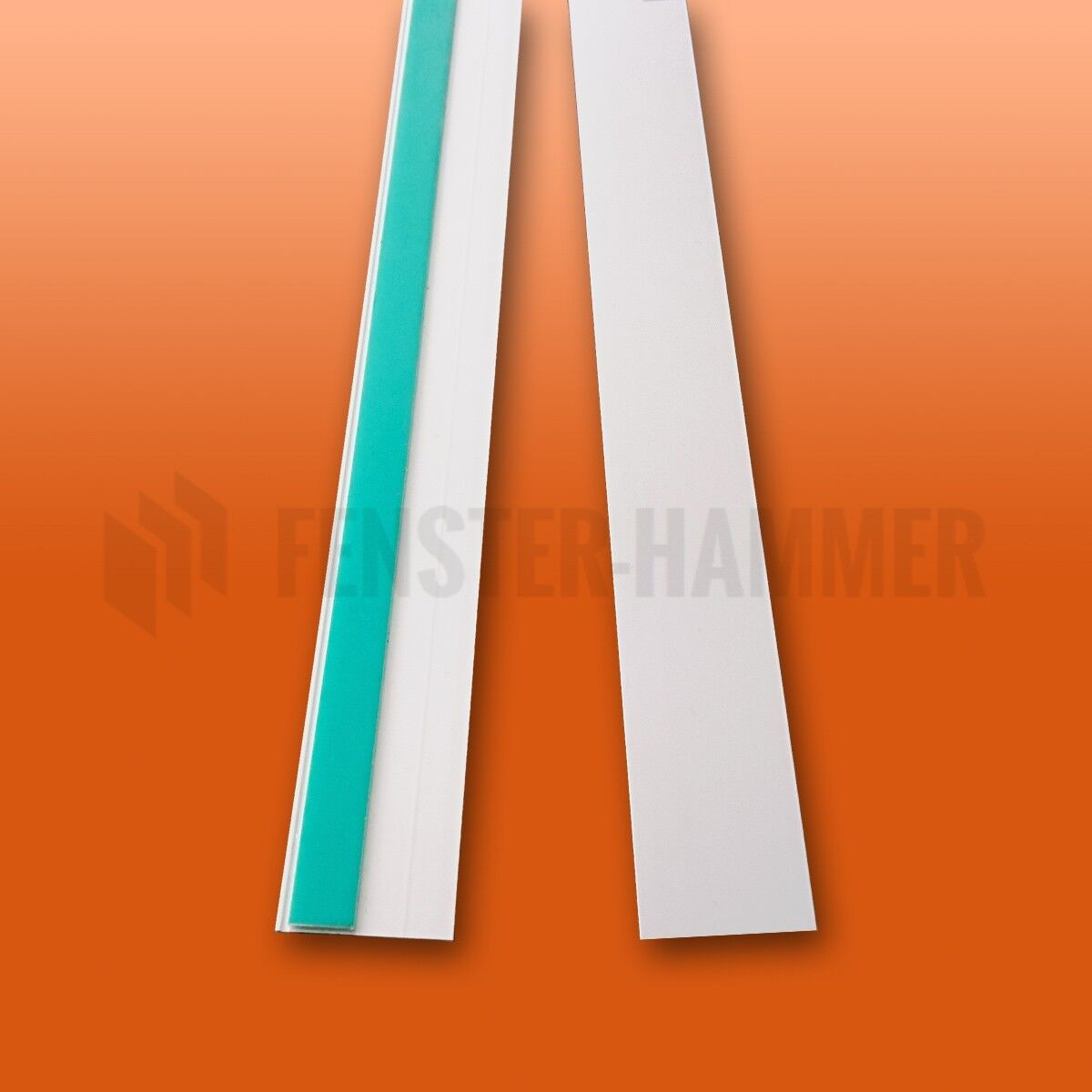Fensterleiste Abdeckleiste Flachleiste Fensterleisten Kunststoffleiste