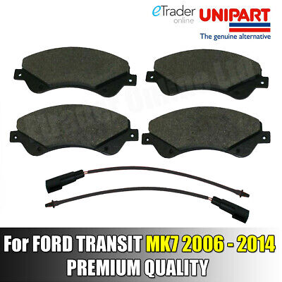 for FORD TRANSIT Mk 7 Front Brake Pads FWD 2006-2014 2.2 TDCi  Genuine Unipart
