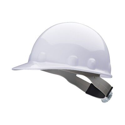 Fibre-Metal Cap Style Hard Hat with 8 Point Ratchet Suspension, White (Metal Cap Style Hard Hat)