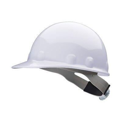 Fibre-metal Cap Style Hard Hat With 8 Point Ratchet Suspension White