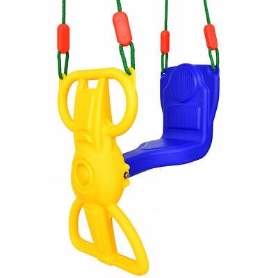 Rider Swing with Hangers Glider Swing Seat Kids Children Playground Backyard - Kids Glider Swing