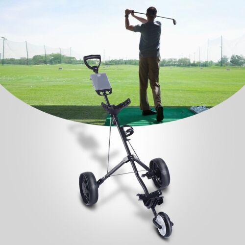 "62"" x 24"" x 36"" Outdoor Sports Folding Pull Push Golf Cart 3"