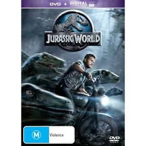 Jurassic World (2015) DVD Region 4 BRAND NEW FREE POSTAGE