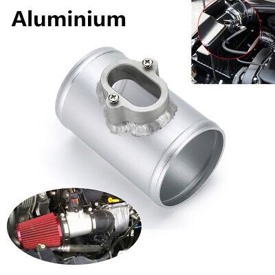 Silver Air Mass Sensor Adapter Air Flow Sensor Mount For Chevrolet Cruze Buick
