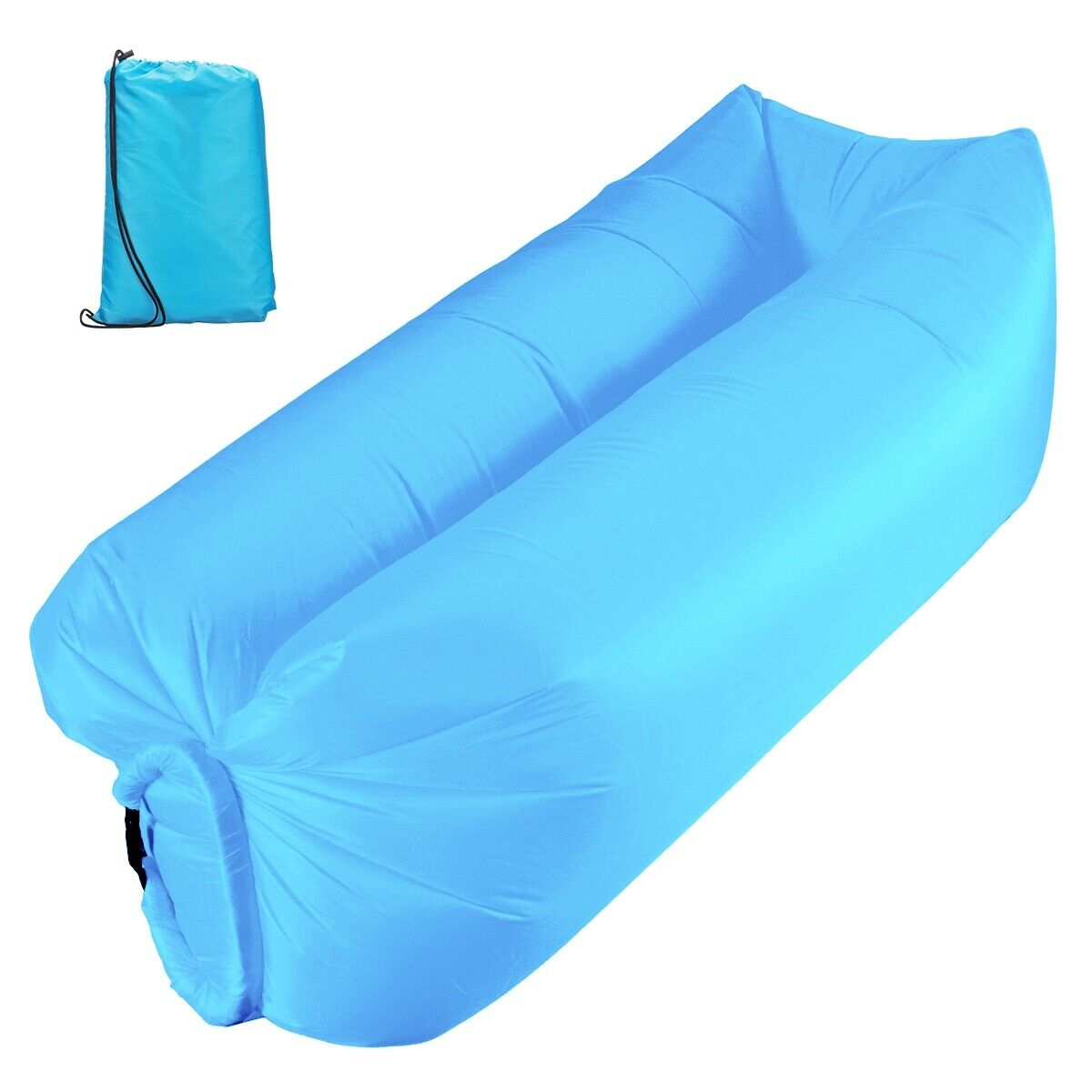 Inflatable Lounger Air Sofa Outdoor Portable Fast Inflatable