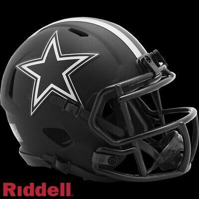 Dallas Cowboys Alt Eclipse Riddell Speed Mini Helmet - New in Riddell Box