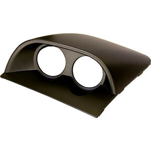 SAAS Holden Commodore Dash Twin 52mm Gauge Holders VY VZ Black