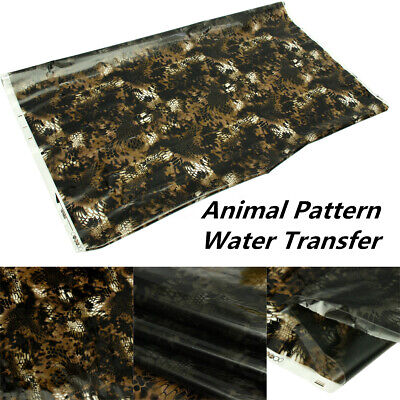 79x20 Black Pva Hydrographic Water Transfer Dipping Hydro Printing Films