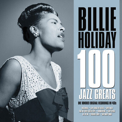Billie Holiday 100 JAZZ GREATS Best Of 100 Essential Songs COLLECTION New 4