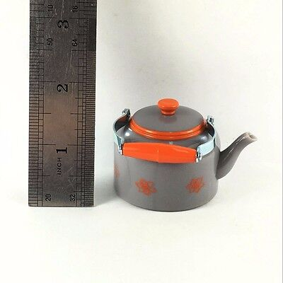 Grey Teapot Kettle AMERICAN GIRL DOLL LANIE RV CAMPER REPLACEMENT toy cute gift