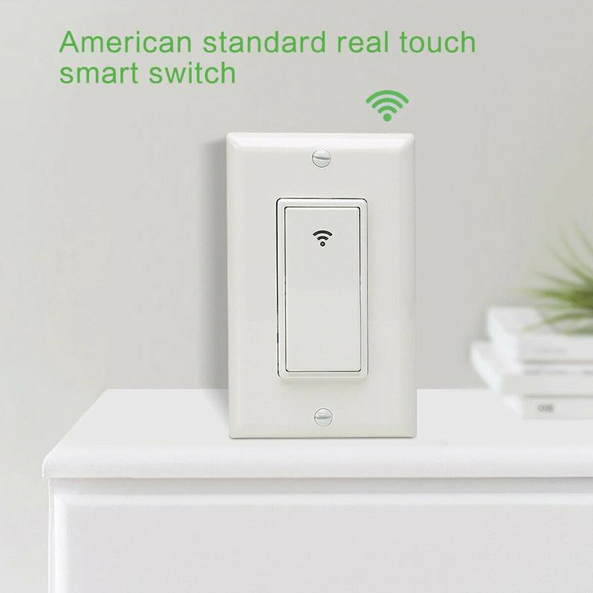 как выглядит Smart Electric Switch 110-220v Remote Control Wifi Light For Alexa Google Home фото