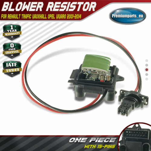 Heater Blower Fan Resistor Fits Vauxhall Vivaro Mk1 2.0 CDTI Diesel 2006-2014 #2