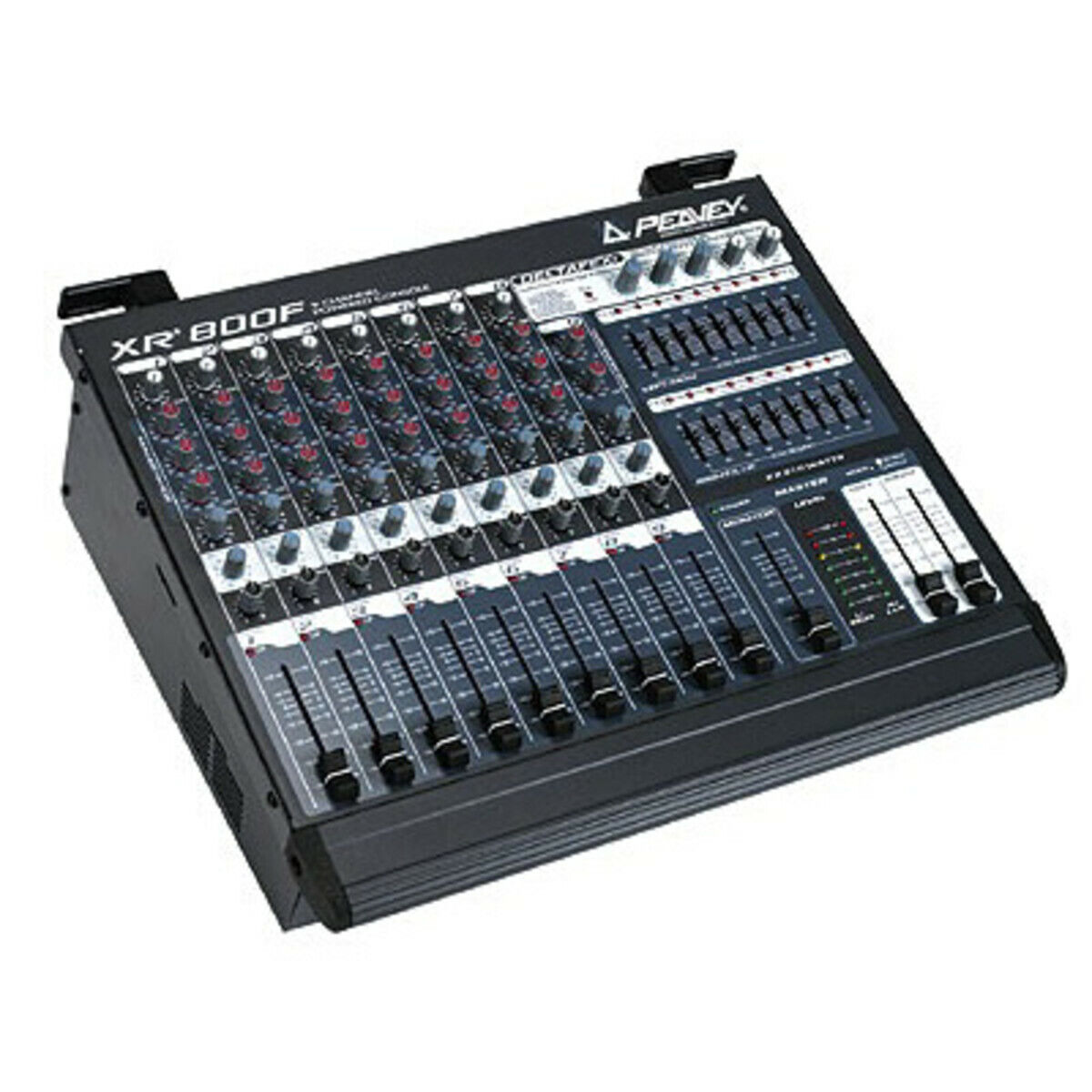 Table de mixage peavey xr-800f - 9 channels  2x110 w analogique  old stock