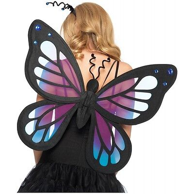 Butterfly Fairy Wings Pixie Costume Accessory Adult Halloween