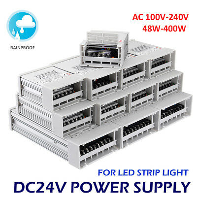 Dc12v24v 12w-600w Led Switching Driver Transformer Power Supply Strip Light