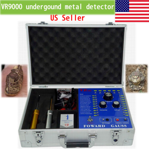 как выглядит VR9000 metal gold detector Underground Professional long range finder machine фото