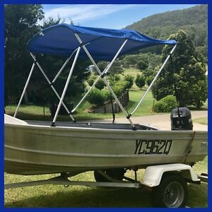 3.85 Stessl Tinny with 35 HP Motor Bonogin Gold Coast South Preview