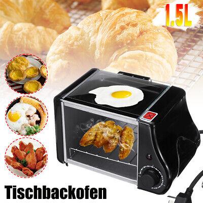 Multifunction Tischbackofen Kompakt Backofen Miniofen Breakfastline Toaster