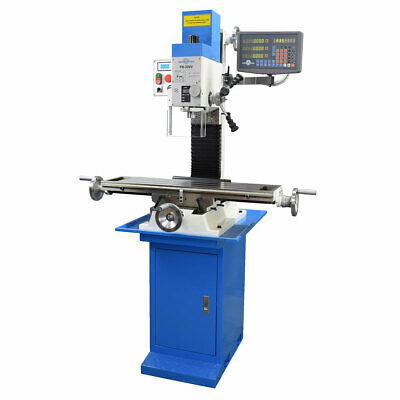 Pm-30mv Vertical Bench Type Milling Machine W3-axis Dro And Stand Free Shipping