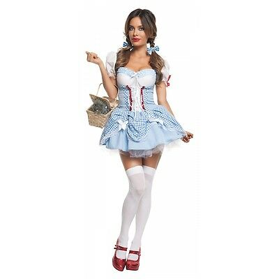 Dorothy Costume Adult Sexy Haloween Fancy - Haloween Dress