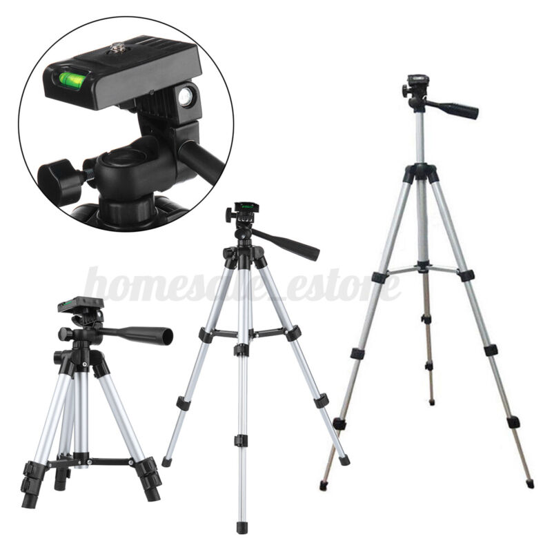 Extendable Tripod Stand Adjustable Camera Phone Mini Projector Rack Portab