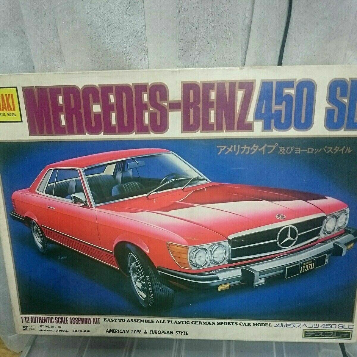 Slc Kit Car >> Otaki Mercedes Benz 450 Slc 1 12 Scale Model Kit