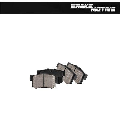 Rear Ceramic Brake Pads w/ Rubber Shims For INTEGRA RSX ACCORD COUPE SEDAN CIVIC