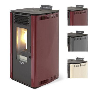 Stufa a pellet Qlima Fiorina  fino a 11 kw riscaldamento ambienti casa uffici