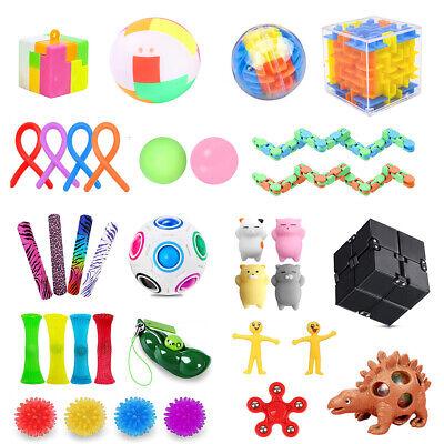 Fidget Toy Blind Box 35pc Assorted Fidget Gadgets For Kids Adults Teens