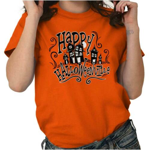 halloween halloweenville haunted trick treat ghost t
