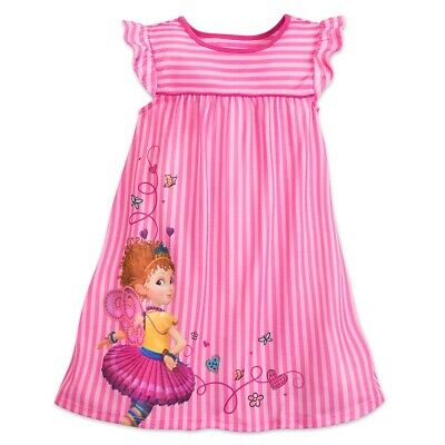 NWT Disney Store sz 3 4 5 6 7 8 Fancy Nancy Nightshirt Pjs Pajamas NEW