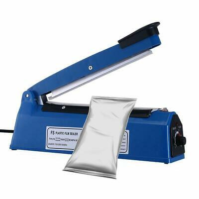 8 Plastic Impulse Heat Poly Bag Sealer Closer Machine A Free Teflon Tape